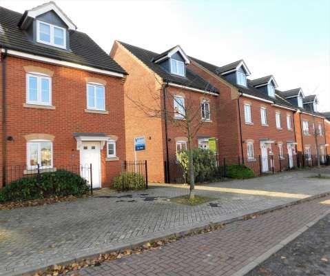 Thumbnail Terraced house to rent in Eagle Way, Hampton, Peterborough
