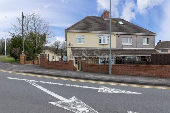 Thumbnail Semi-detached house for sale in Glasllwch Crescent, Newport, Gwent.