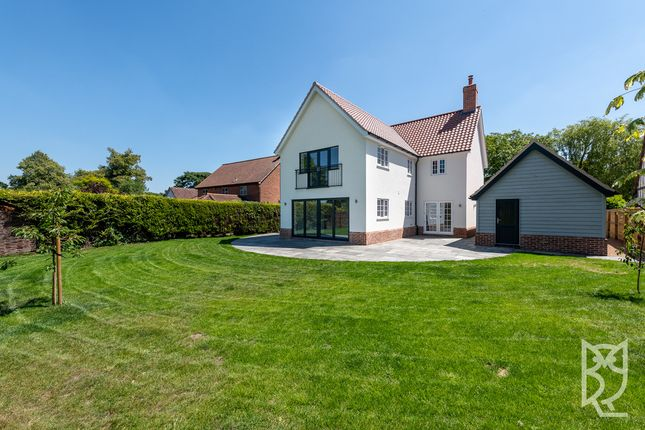 Thumbnail Detached house for sale in Bury Road, Rickinghall, Rickinghall