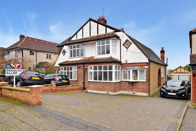 Thumbnail Semi-detached house for sale in Dukes Avenue, Theydon Bois, Epping, Essex