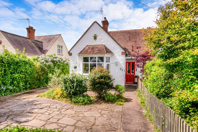 Thumbnail Semi-detached bungalow for sale in Manor Road, Stratford-Upon-Avon