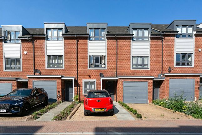 4 bed terraced house for sale in Rembrandt Way, Watford, Hertfordshire WD18