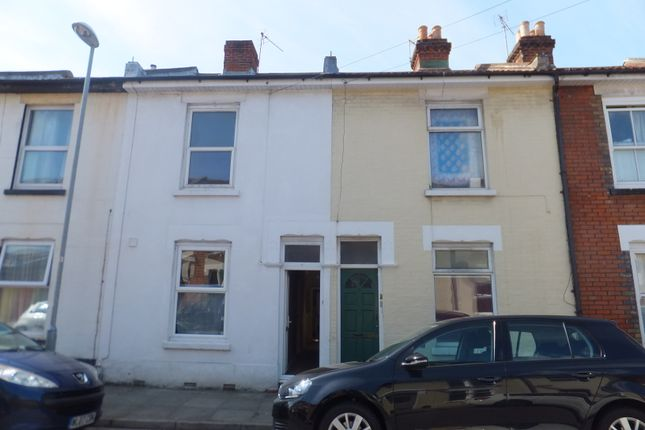 Thumbnail Terraced house to rent in Percy Road, Southsea, Hampshire