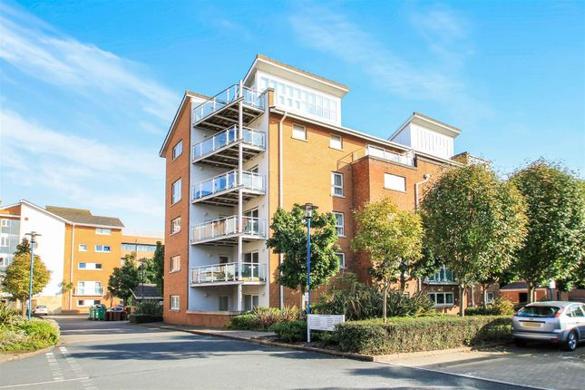 Thumbnail Flat for sale in Venice House, Century Wharf, Cardiff Bay