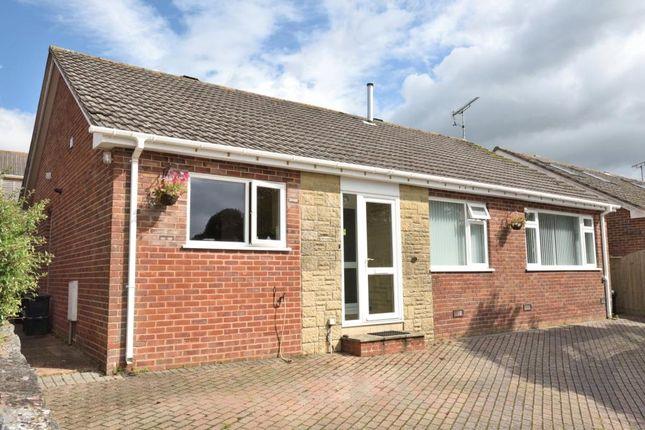 Thumbnail Detached bungalow for sale in Mallocks Close, Tipton St. John, Sidmouth, Devon