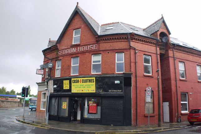 Thumbnail Flat to rent in Flat 6, 136-138 St Marys Road, Liverpool