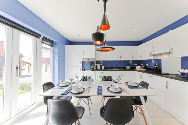 "Thumbnail Semi-detached house for sale in ""The Chastleton"" at Oak Tree Road, Hugglescote, Coalville"