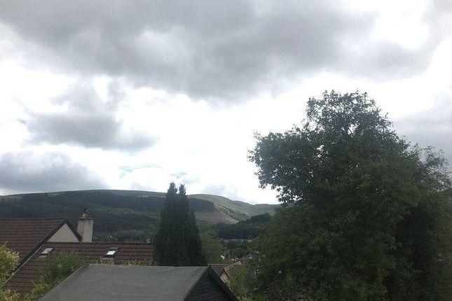 Views of Glyncoli Close, Treorchy, Rhondda Cynon Taff. CF42