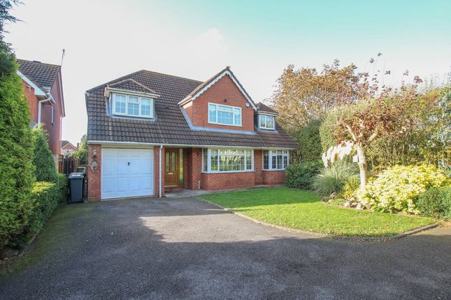 Thumbnail Detached house to rent in Leyburn Close, Nuneaton