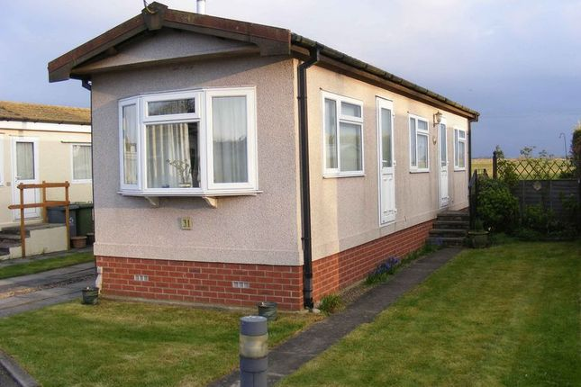 Thumbnail Mobile/park home for sale in Newton Park Homes, Newton St. Faith, Norwich