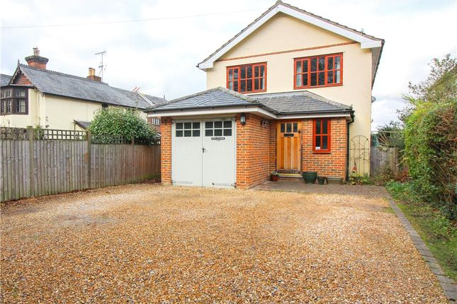 Thumbnail Detached house for sale in Vicarage Road, Yateley, Hampshire