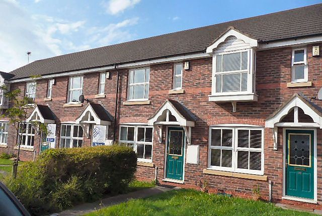 Thumbnail Terraced house to rent in Whitewell Close, Nantwich