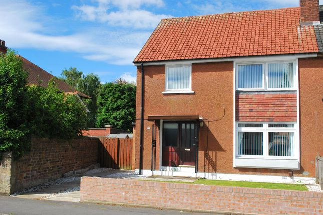 Semi-detached house for sale in Burnhead Road, Larbert