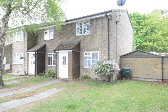 Thumbnail End terrace house to rent in Draycott, Bracknell