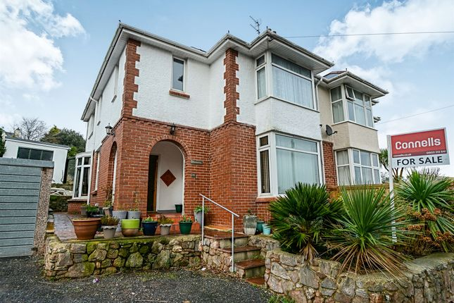 Thumbnail Semi-detached house for sale in Teignmouth Road, Torquay
