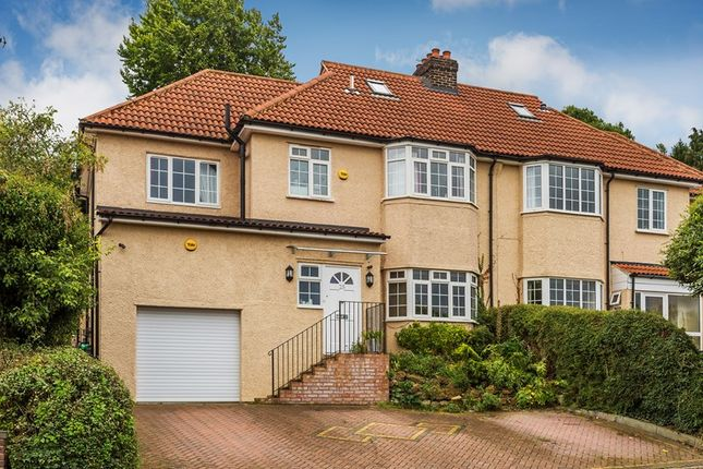 Thumbnail Semi-detached house for sale in Hartley Down, Purley