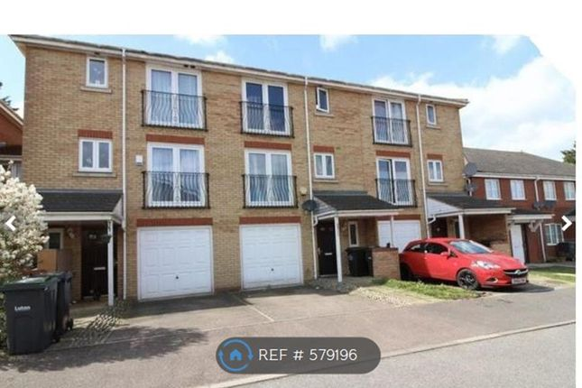 Thumbnail Terraced house to rent in Primrose Close, Luton