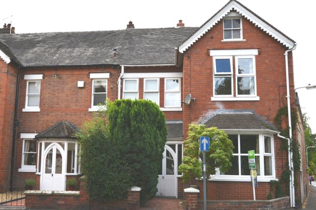 Thumbnail End terrace house for sale in Victoria Road, Market Drayton