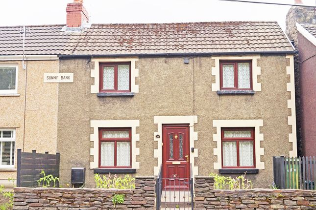 Thumbnail Cottage for sale in Main Road, Maesycwmmer
