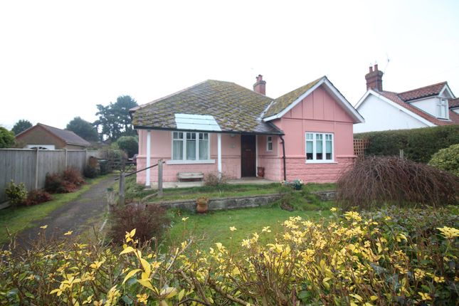 Thumbnail Detached bungalow for sale in Church Road, Hoveton, Norwich
