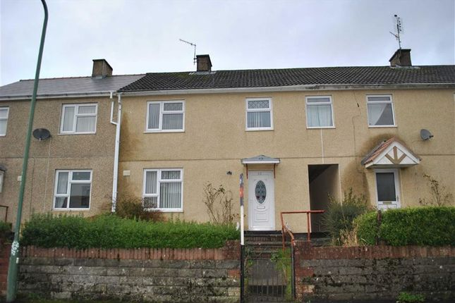 Thumbnail Terraced house to rent in Heol Onen, Brynmawr, Ebbw Vale