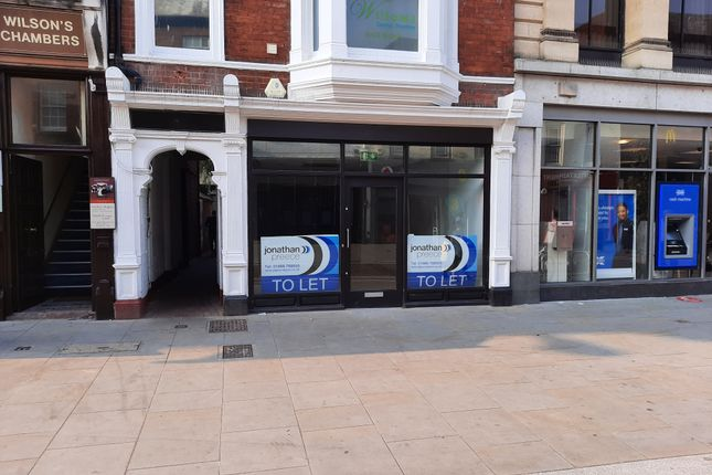 Retail premises to let in Commercial Street, Hereford
