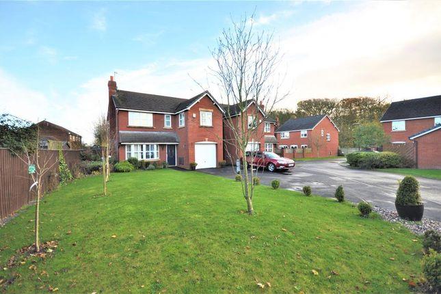 Thumbnail Detached house for sale in Linden Close, Clifton, Preston, Lancashire