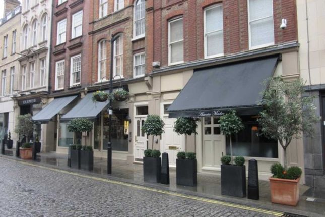 Thumbnail Restaurant/cafe to let in Blenheim Street, Mayfair