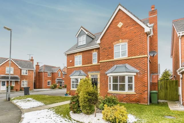 Thumbnail Detached house for sale in Chapelside Close, Great Sankey, Warrington, Cheshire