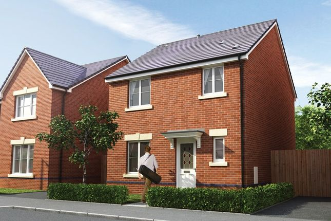 Thumbnail Detached house for sale in The Litchard, Waterloo Gardens, Monbank, Newport