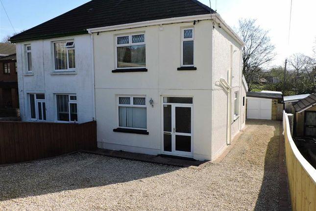 Thumbnail Semi-detached house for sale in Heol Y Felin, Pontyberem, Llanelli
