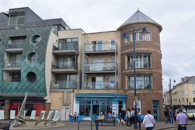Thumbnail Flat for sale in Brogden Building, The Esplanade, Porthcawl