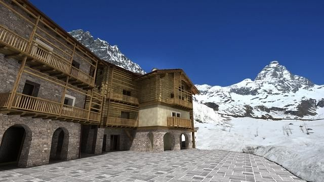 1 bed property for sale in Cervinia Ski Apartments, Aosta Valley, Italy