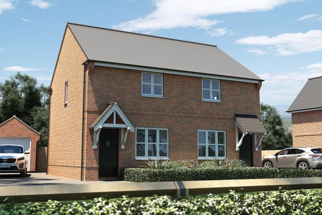 "Thumbnail Semi-detached house for sale in ""The Hindhead"" at Pershore Road, Evesham"