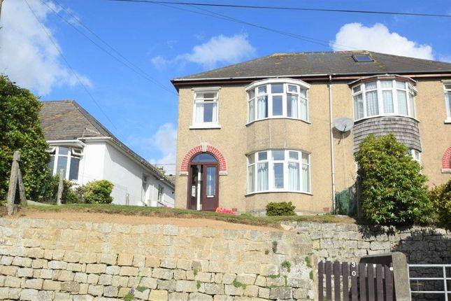 Thumbnail Semi-detached house for sale in Kernick Road, Penryn