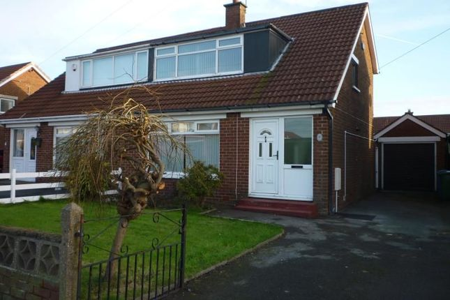 Thumbnail Semi-detached house to rent in Lynne Avenue, Bangor