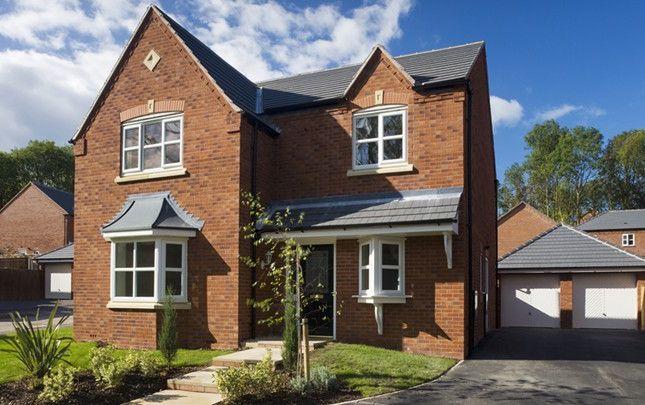 Thumbnail Detached house for sale in The Willington, Penmere Park, Oakwood Park, Penley, Wrexham