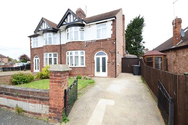 Thumbnail Semi-detached house to rent in Lynton Road, Peterborough, Cambridgeshire.