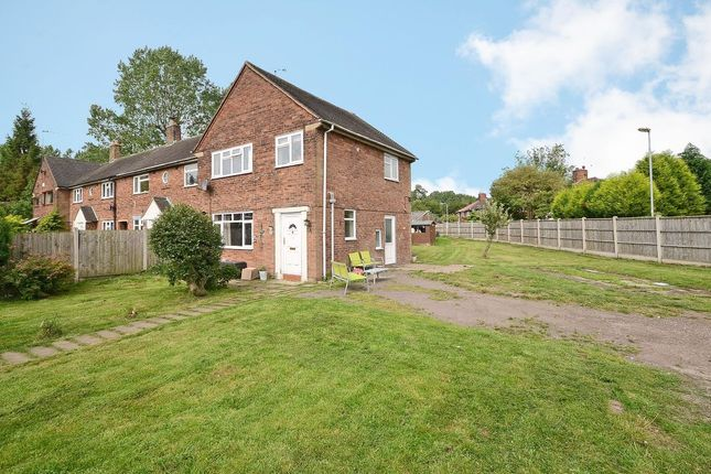 Thumbnail Town house for sale in Highfield Close, Blythe Bridge