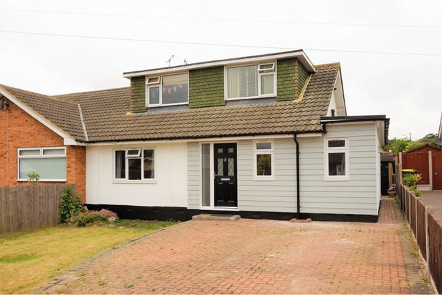 Thumbnail Semi-detached house for sale in Gregory Close, Hockley