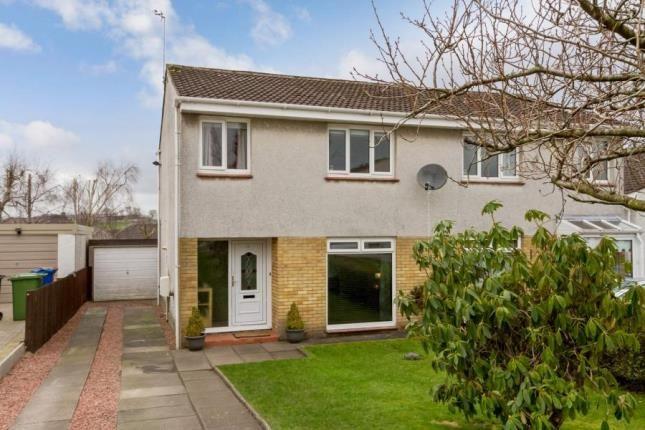 Thumbnail Semi-detached house for sale in Glenwood Gardens, Lenzie, Glasgow