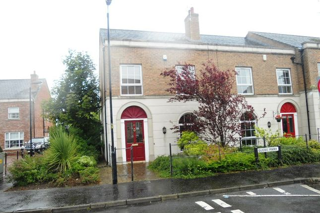 Thumbnail Town house to rent in Glebe Park, Moira, Craigavon