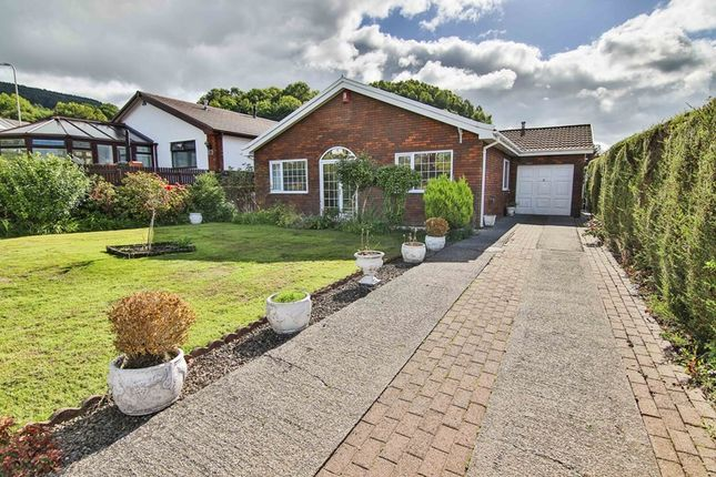Thumbnail Detached bungalow for sale in Elan Close, Cwmbach, Aberdare