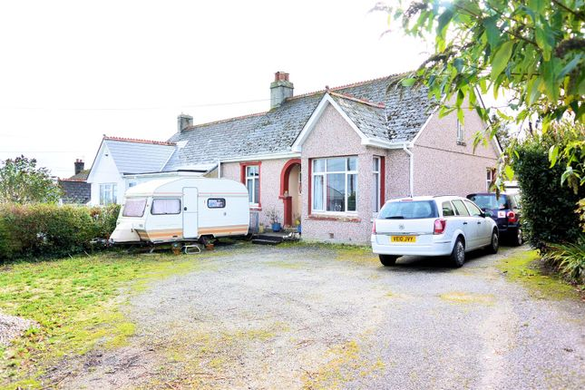 Thumbnail Semi-detached bungalow for sale in Edgcumbe Road, St. Austell