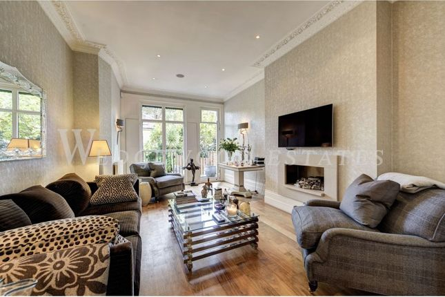 Thumbnail End terrace house for sale in Warwick Gardens, Kensington, London