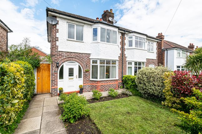 3 bed semi-detached house for sale in Waverley Avenue, Appleton, Warrington, Cheshire WA4