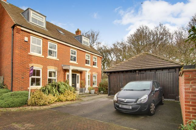 Thumbnail Detached house for sale in Hornscroft Park, Hull