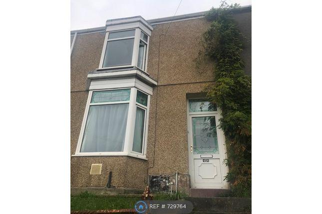 Thumbnail Terraced house to rent in Malvern Terrace, Swansea