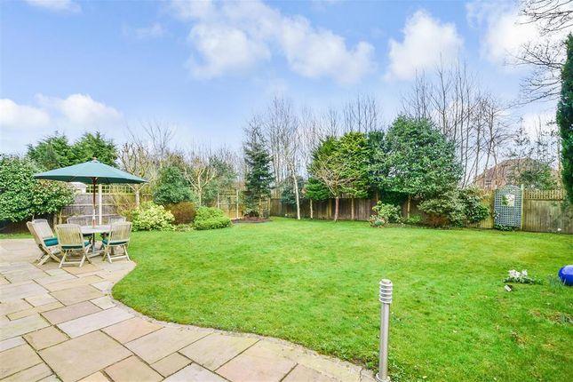 Rear Garden of Hampden Way, West Malling, Kent ME19