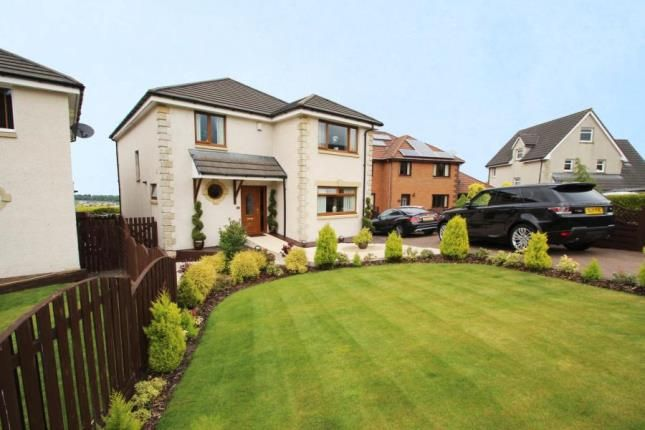 Thumbnail Detached house for sale in Anderson Crescent, Shieldhill, Falkirk, Stirlingshire